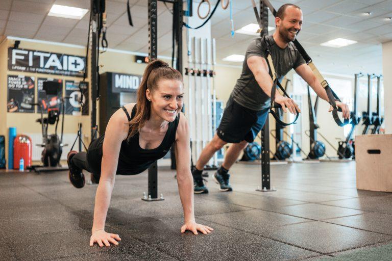 Körpergewicht Training TRX