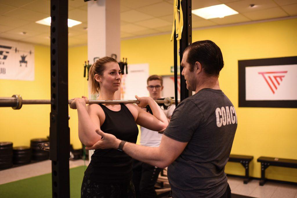 Gewichtheben Training Frankfurt
